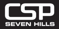 CSP white text Logo